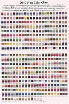 Dmc Rayon Floss Color Chart Dmc Floss Color Chart Printable Pdf Download