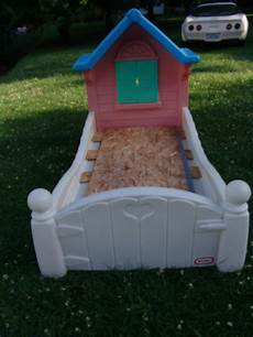 retired tikes storybook cottage child size toddler