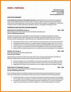 Executive Summary For Resume 12 13 Summary Of Qualification On Resume