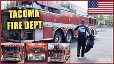 Lights Sirens Tacoma Tacoma Fire Dept Ladder 2 Engine 8 Medic 2 Responding