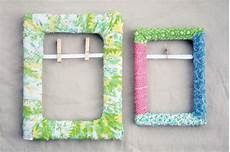 the creative place diy fabric scrap wrapped frame