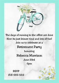 Retirement Invitation Examples 100 Retirement Party Invitations Guests Cant Resist