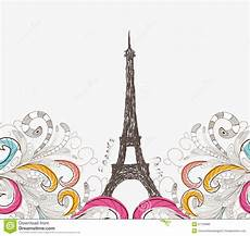 Paris Designs Cute Paris Doodle Stock Vector Illustration Of Garden