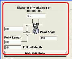 Drill Angle Chart Counterskink Calculations With Machinist S Calculator