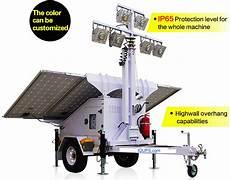 Solar Lighting Jobs Job Site Solar Light Tower Solar Light Tower Disaster