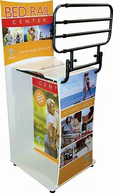 bed rail center display ready supply
