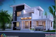 4 Bhk House Design Plans 1750 Square Feet 4 Bhk Modern Home Design Kerala House