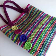 stylish crochet bag handles crafternoon treats