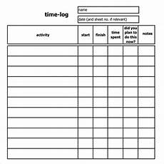Time Log Excel Time Log Template 14 Download Documents In Pdf Word
