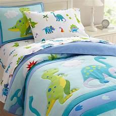 olive comforters dinosaur land size