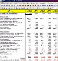 Pro Forma Statement Of Cash Flows Template Pro Forma Cash Flow Budget Template Investing Post
