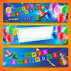Birthday Banner Maker Kids Birthday Banner Design Free Vector Download 12 187