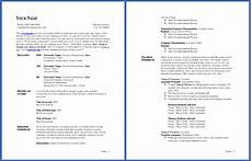 Ready Cv Examples Free Cv Template Curriculum Vitae Template And Cv Example