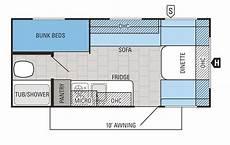 2016 flight slx 184bh floorplan travel trailer