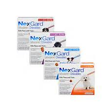 Nexgard Weight Chart Nexgard Chewables For Dogs Free Shipping 100