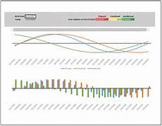 Bio Chart Biorhythm Template Interactive Chart Spreadsheetshoppe