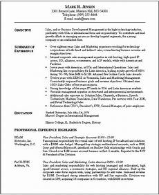 Sample Resume For Marketing Executive Position Resume Objective Sample Marketing 12 Marketing Resume
