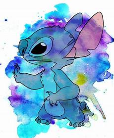 stitch watercolor by jmascia on deviantart