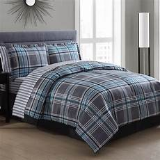 chelsea plaid bed in a bag set wayfair