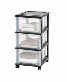 iris 3 drawer narrow cart 2 pack storage drawers