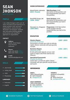 Creative Programmer Resume 50 Free Resume Cv Template In Psd Ai Word Indd Sketch
