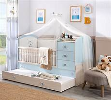 baby boy convertible baby bed with parent bed 80x180 cm