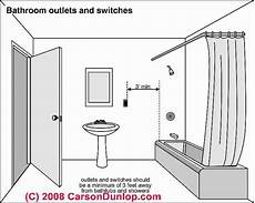 Bathroom Light Switch Location Electrical Outlet Locations Where Should Electrical