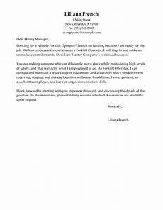 Autocad Operator Cover Letter Amazing Forklift Operator Cover Letter Examples