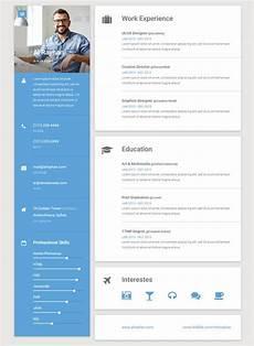 Design A Resume Online 50 Best Html Resume Cv Vcard Templates 2017 Online