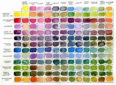 Daniel Smith Watercolor Color Chart Daniel Smith 12 Colors Of Inspiration Hand Poured
