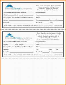 Donation Pledge Form Template Donor Pledge Card Template Planning Template