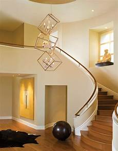 En Lighting Interior Modern 2 Story Entryway Lighting Design With