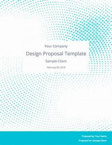 Graphic Design Proposal Template The Perfect Graphic Design Proposal Template And Bonus