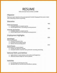 Resume Form Pdf 7 Free Fillable Resume Templates Professional Resume List