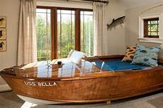 amazing boat bed is it a repurposed boat or was it custom