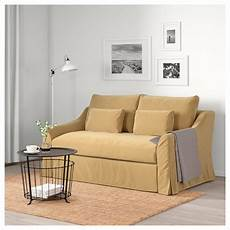 Small Pull Out Sofa 3d Image by F 196 Rl 214 V Sleeper Sofa Djuparp Yellow Beige Ikea Sofas