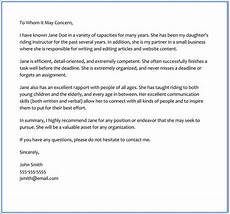 Character Letter Example 6 Best Character Reference Letter Samples Written For Friend