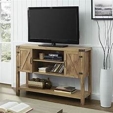 52 quot barn door buffet table console tv stand barnwood