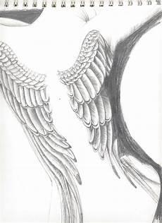 Drawing Of Angel Wings Angel Wings By Lyrixia On Deviantart