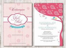desain undangan cantik 32 contoh desain undangan pernikahan unik modern elegan