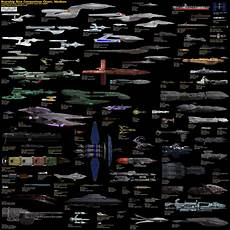 Ship Size Comparison Chart Starship Size Comparison Charts 187 Star Trek Minutiae