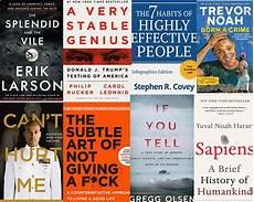 Amazon Nonfiction Charts 10 Most Read Non Fiction B0oks On Amazon Charts 2020 In