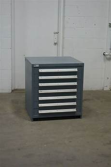 used vidmar 7 drawer cabinet 33 industrial storage