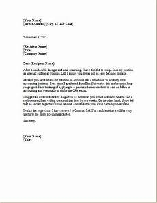 Microsoft Word Formal Letter Template Formal Resignation Letter Letter Template Word