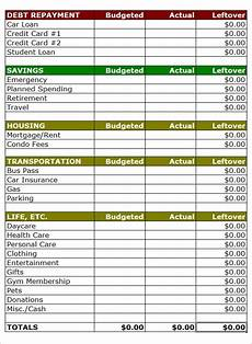 Home Budgeting Template 21 Home Budget Help Ideas To Remind Us The Most Important