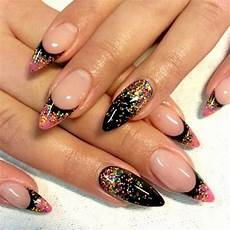 Pang Nail Design 35 Stunning Pointy Nail Designs That You Want To Try