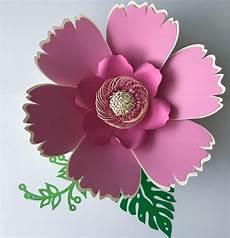 Paper Flower Petal Templates Svg Petal 38 Paper Flower Template Digital Version Now