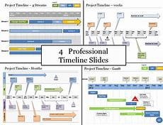 Powerpoint Project Plan Template Powerpoint Project Timeline Planning Template