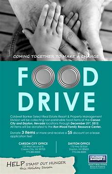 Can Food Drive Flyer Food Drive Flyer Cat