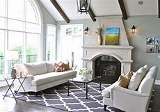 living room design a refresh in alberta with pottery barn